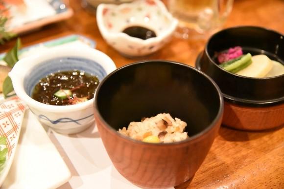 炊込みご飯@ゆばらの宿米屋