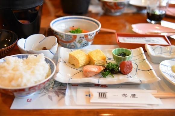 朝食@ゆばらの宿米屋