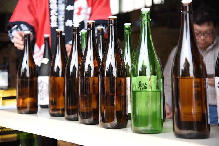お酒いろいろ@松尾酒造新酒の会