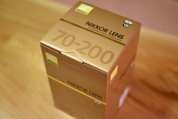 箱@AF-S NIKKOR 70-200mm f/2.8 ED VR Ⅱ