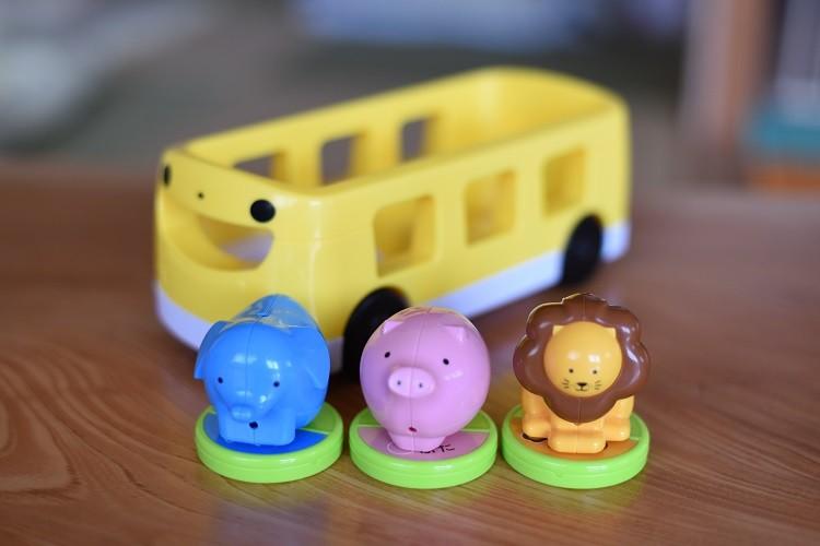 バスのプップー1@こどもちゃれんじ2015年4月号