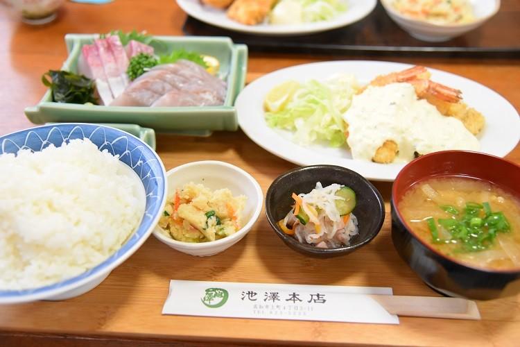 秀郎社長におまかせ定食@上町食堂