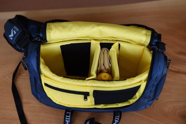 Nikon×MILLET ACTIVE MESSENGER BAG Ⅱ メインルーム