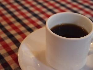 食後のコーヒー@Pasta Corta