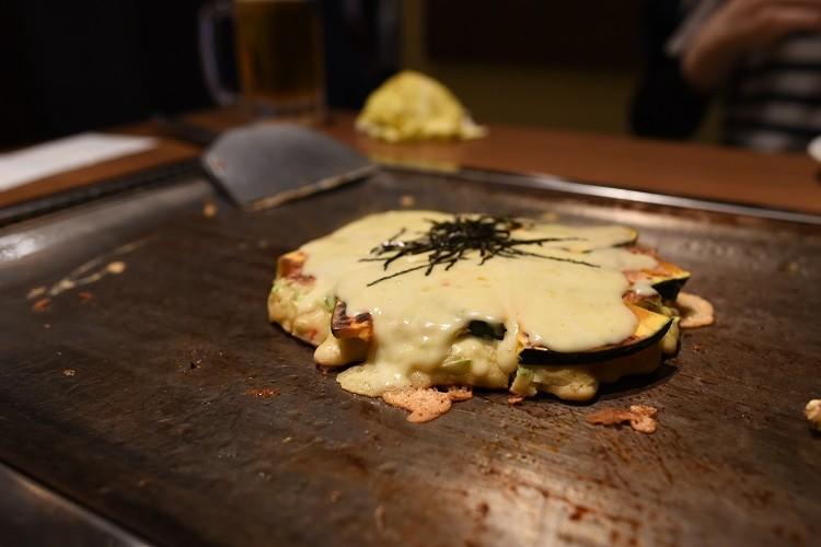 パンプキンチーズ焼@おかる