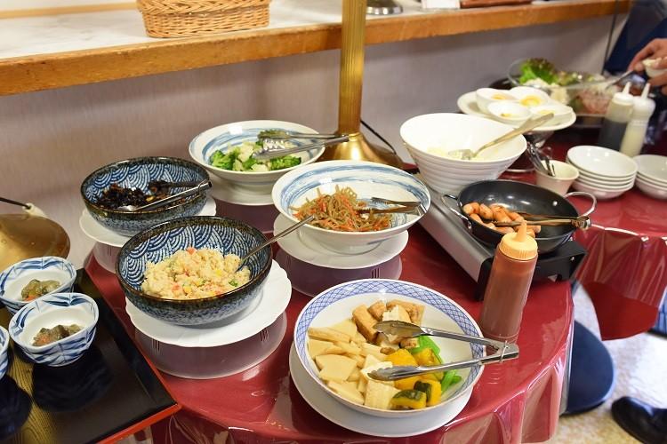 朝食ビュッフェ2@ホテル越久