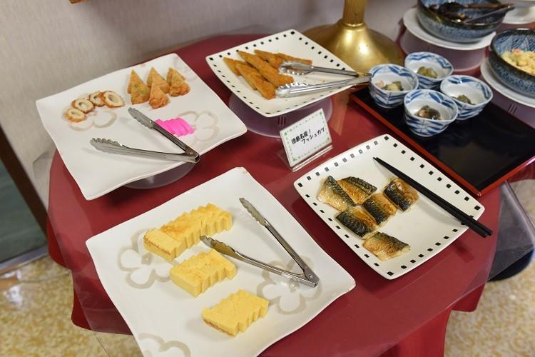 朝食ビュッフェ3@ホテル越久