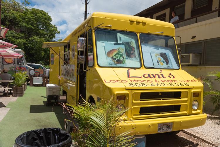 Lani'sのフードトラック