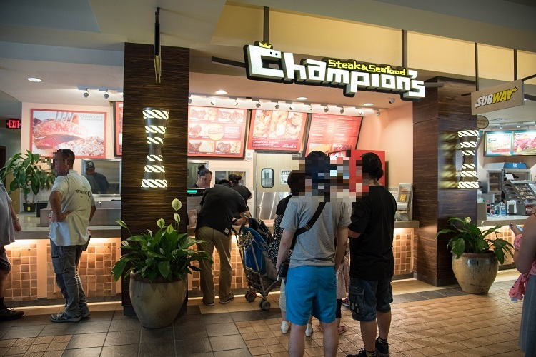 外観@Champion's Steak&Seafood