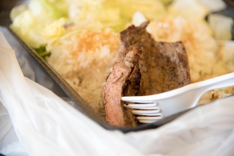 ミディアムレア@Champion's Steak&Seafood