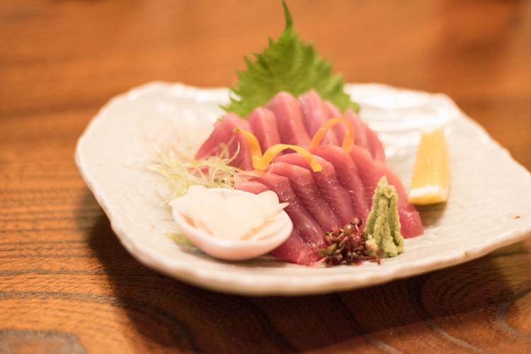 カツオのお刺身@おもてなし料理錦和