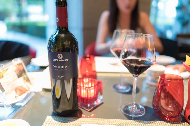 赤ワイン@Trattoria Giovano-2
