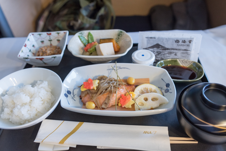 和食の朝食@NH178-1