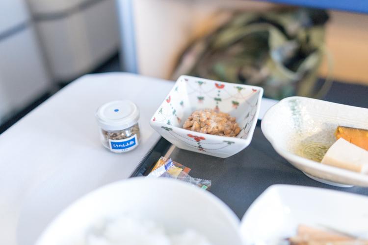 和食の朝食@NH178-2