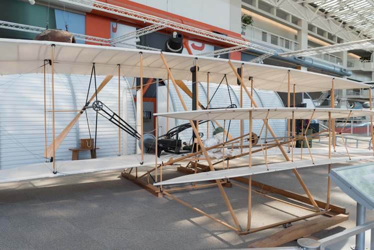 Wright Flyer Reproduction@航空博物館-1