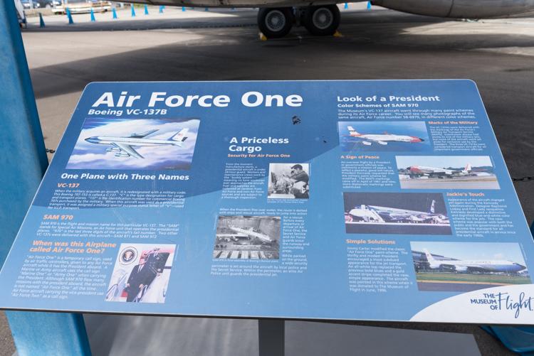 AIR FORCE ONE@航空博物館-3