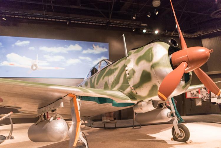 Nakajima Ki-43-IIIa Hayabusa@航空博物館-1