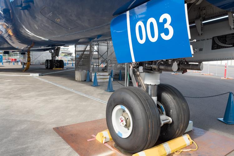 B787 Dreamliner@航空博物館-5