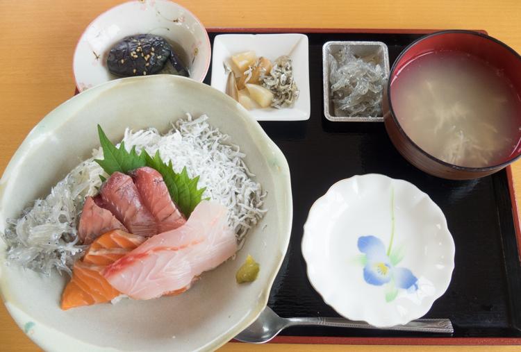 特製海鮮丼セット-1@安芸しらす食堂