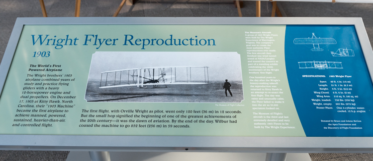 Wright Flyer Reproduction@航空博物館-2