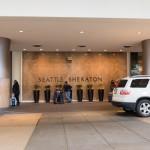 エントランス@Sheraton Seattle Hotel