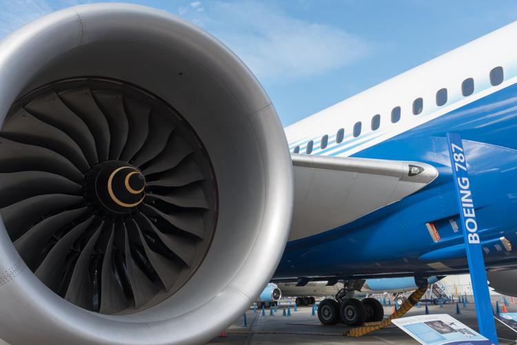 B787 Dreamliner@航空博物館-2