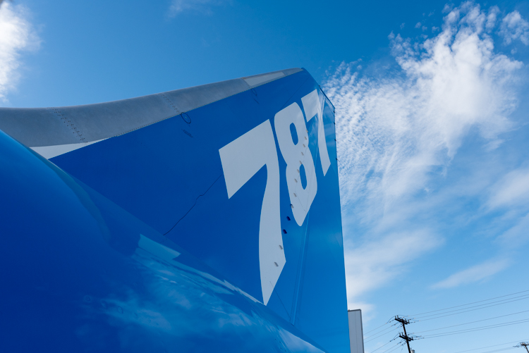 B787 Dreamliner@航空博物館-8