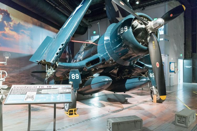 Goodyear FG-1D Corsair@航空博物館-1