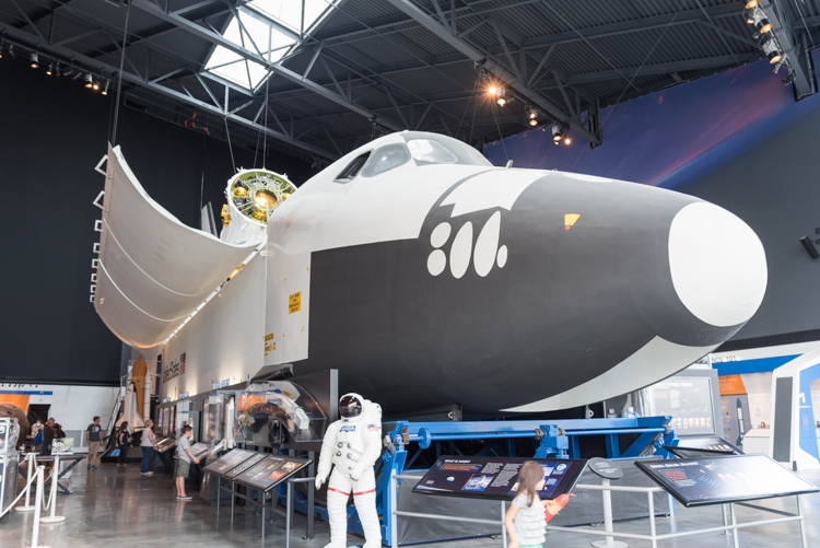 Space Shuttle@航空博物館-1