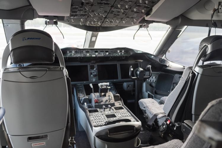 B787 Dreamliner@航空博物館-6