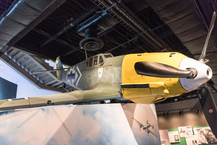 Messerschmitt Bf 109E-3@航空博物館-1