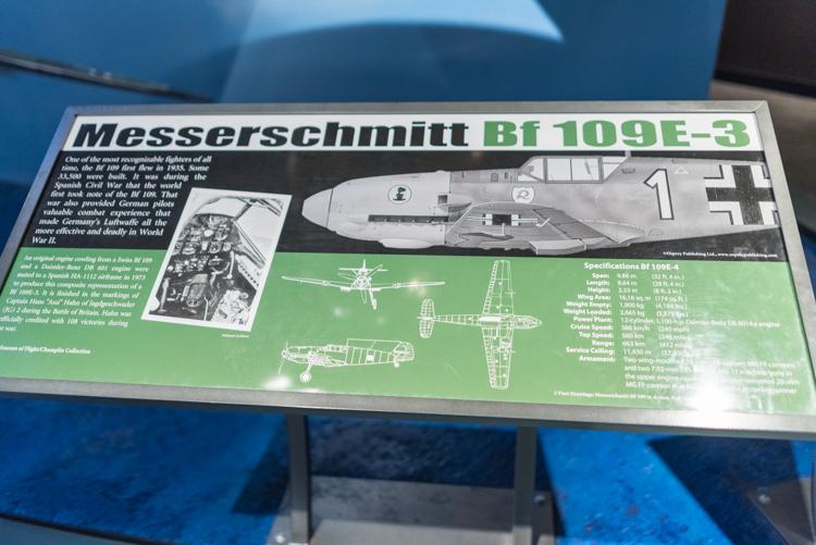 Messerschmitt Bf 109E-3@航空博物館-2