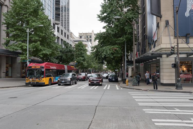 シアトルの街並-1