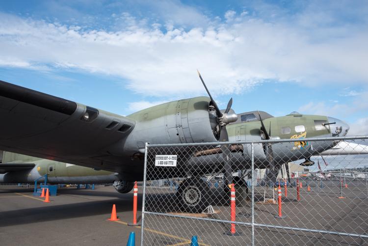 B-17F@航空博物館-1