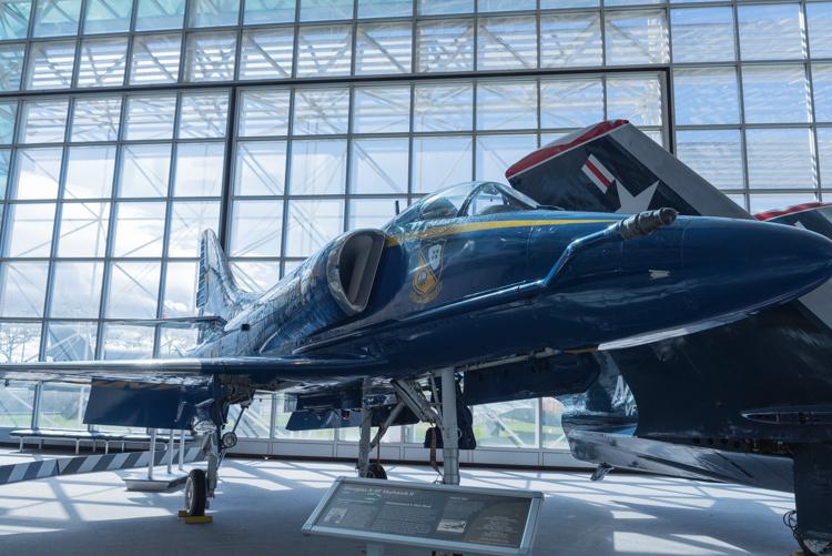Douglas A-4F Skyhawk II@航空博物館