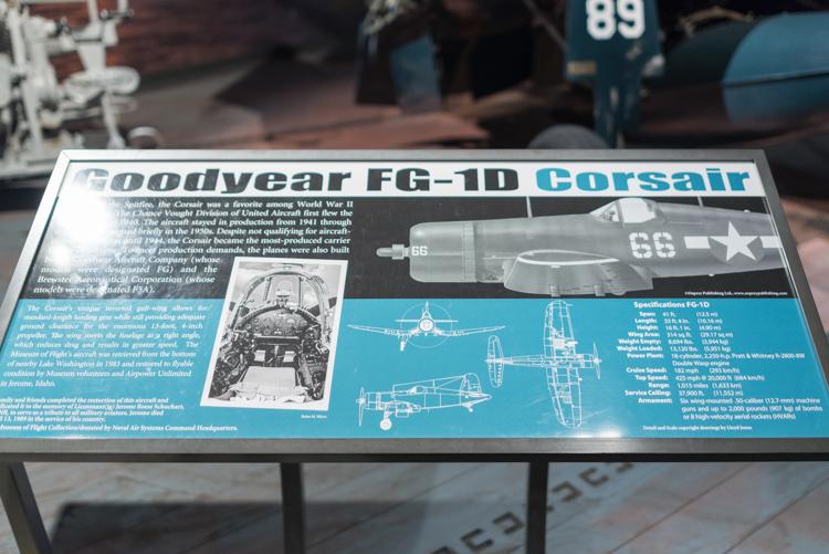 Goodyear FG-1D Corsair@航空博物館-2