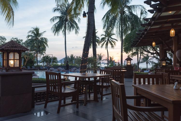 サンセットディナー@Ocean View Coffee Shop-2