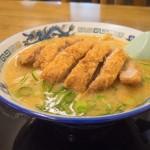味噌カツラーメン@鈴木食堂
