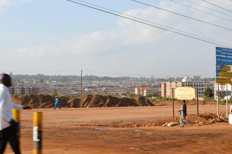 ナイロビの街並み-2
