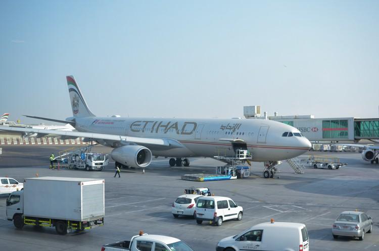 アブダビ国際空港の様子-4