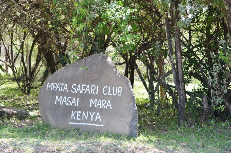 入口@Mpata Safari Club