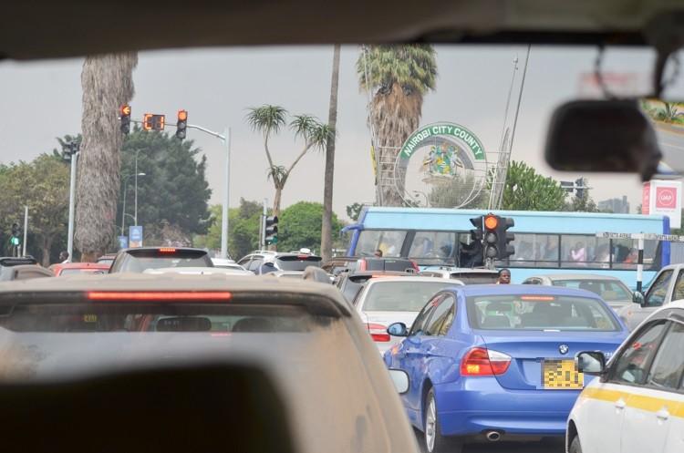 ナイロビの街並み-3