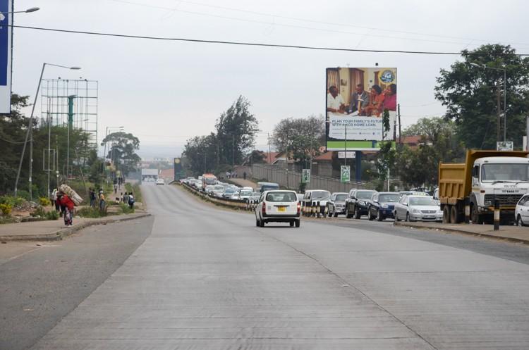 ナイロビの街並み-4