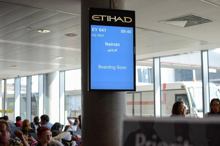 アブダビ国際空港の様子-6