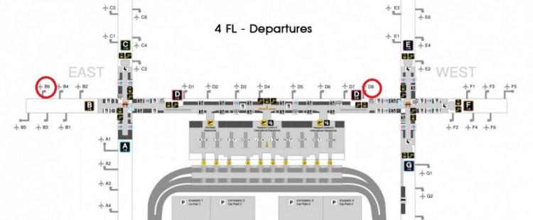 BKKターミナルマップ