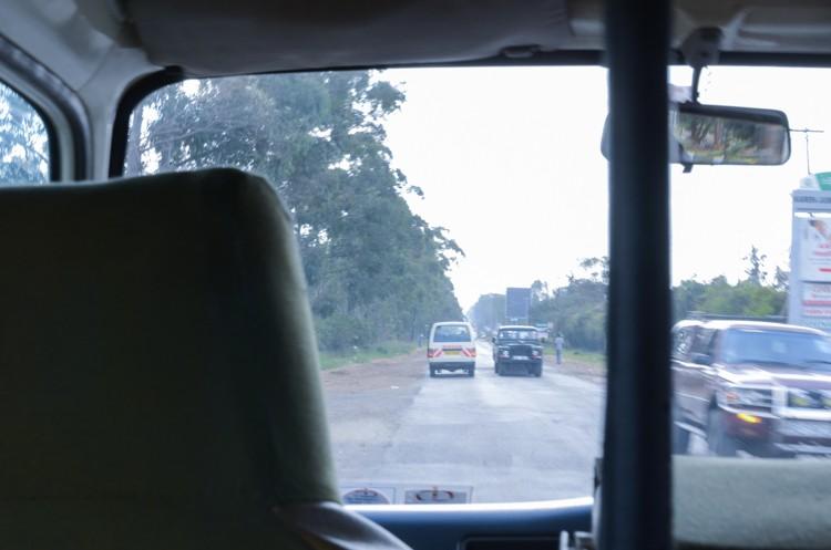 ナイロビの街並み-1