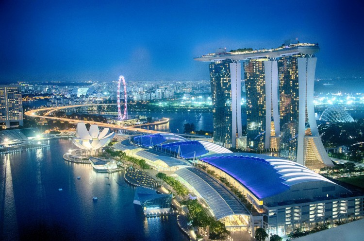 photo credit: Singapore Skyline around Gardens by the Bay via photopin (license)