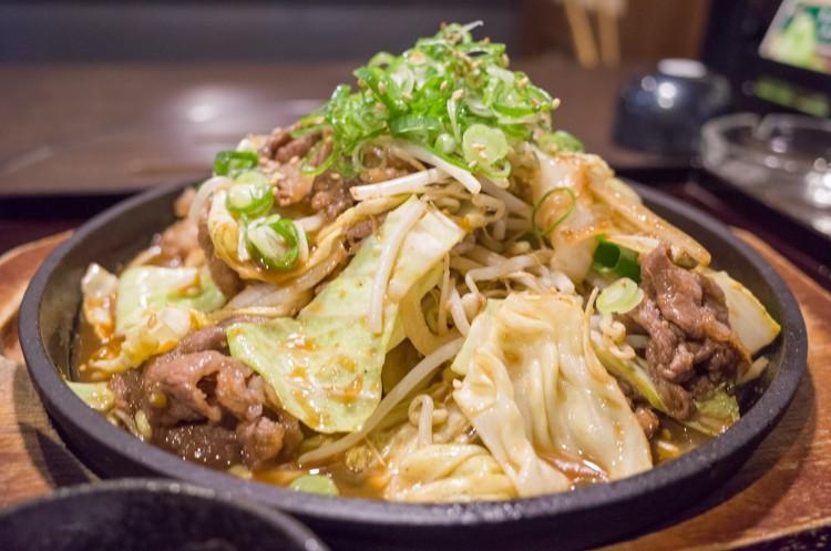 ぷるこぎ定食@焼肉ぷるこぎ高知店-2