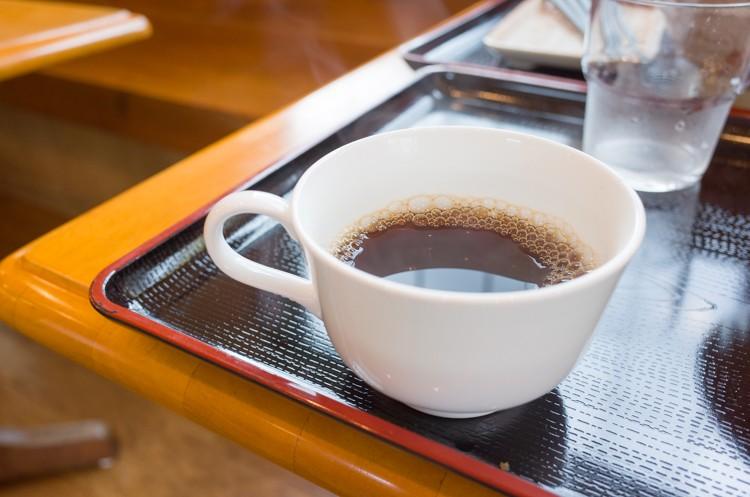 コーヒー@三枝うどん