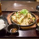 ぷるこぎ定食@焼肉ぷるこぎ高知店-1
